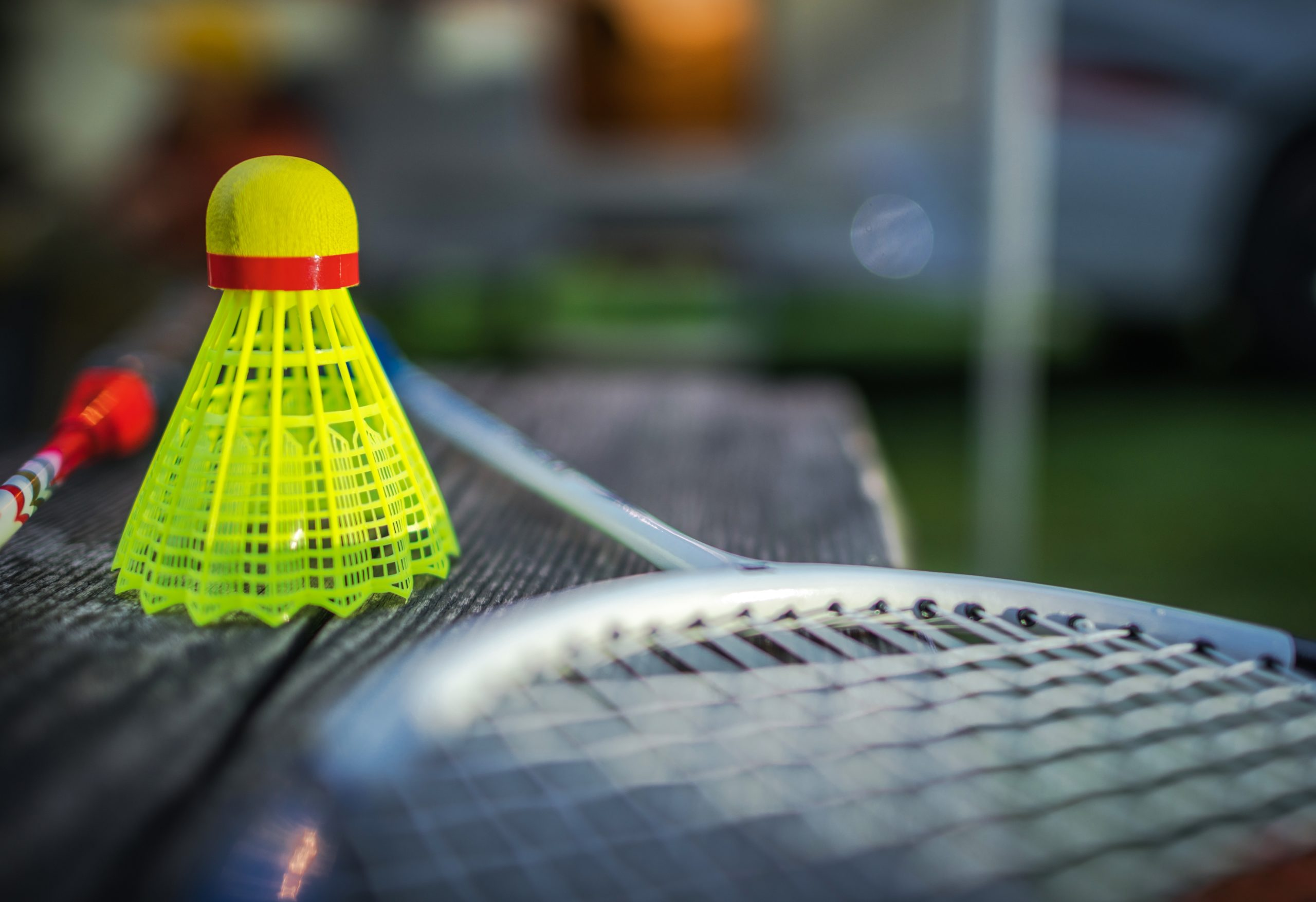 Badmintonball Farbe rot