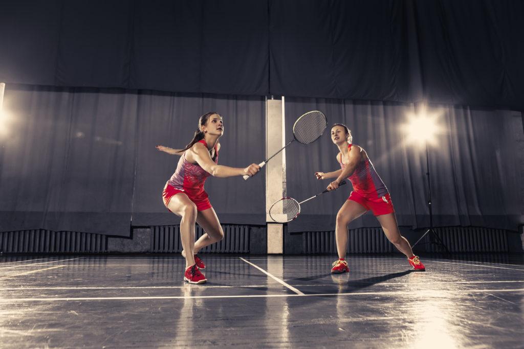 Badmintonschläger Bespannung