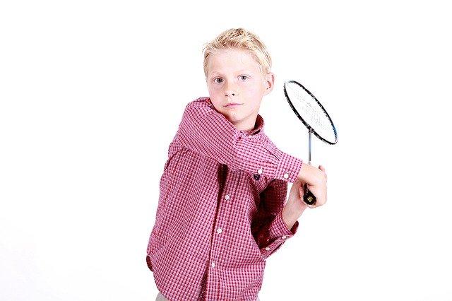 Badmintoschläger für Kinder